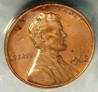 1968-P 1C Lincoln Memorial Cent 17ws0209 BU/Mint Set Only 50 Cents for Shipping