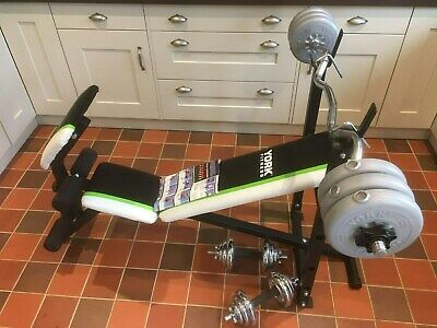 York Fitness 13 In 1 Utility Bench 50 00 Picclick Uk