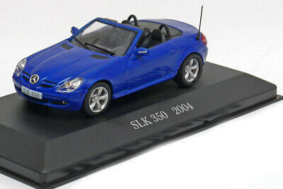 Altaya MB-40 1:43 MERCEDES R171 SLK350 ROADSTER 2004 BLUE METALLIC