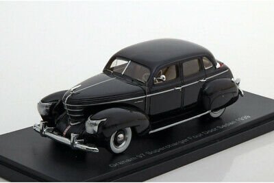 Graham 97 Supercharger Sedan 1939 schwarz Neo Scale Models Modellauto 1:43