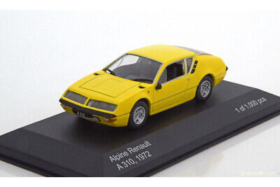 WhiteBox WB160 1:43 RENAULT ALPINE A310 1600 1972 YELLOW