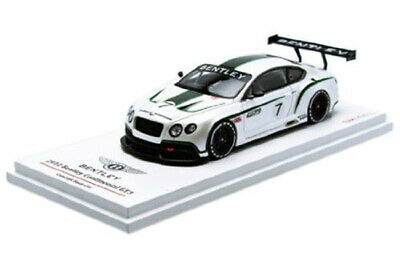 Tsm Tsm134301 1:43 Bentley Continental Gt3 Mondial De Lautomobile 2012 White