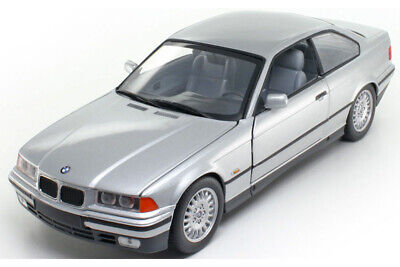 UT Models 180023321 1:18 BMW E36 3-SERIES 320I COUPE 1992 SILVER