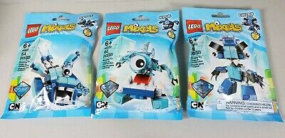 New LEGO Cartoon Network MIXELS Frosticon Lunk 51 Pcs Set Blue Series 2-41510