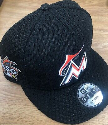 low priced 3cf67 42753 Miami Marlins New Era MLB 2017 Home Run Derby 9fifty Snapback Hat M L ASG
