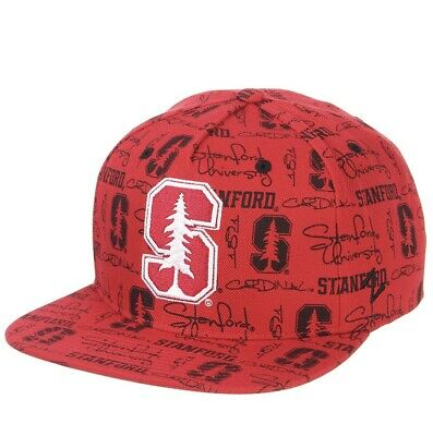 best sneakers 010e6 28d31 New Stanford Cardinal Zephyr Manic Snapback Hat Cap Red Adjustable