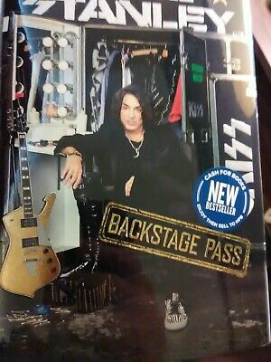 "Paul Stanley/""Backstage Pass""/ First Edition 2019 Brand New, Never Read/$27.99"