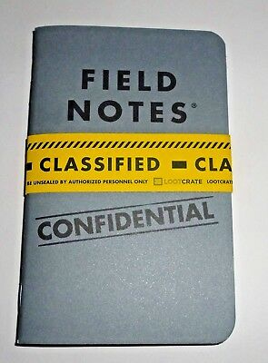 Loot Crate Exclusive Field Notes 2 Pack Notebook NEW