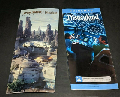 Disneyland Star Wars Galaxys Edge OPENING DAY BROCHURE - 3 MAPS and 200 IMAGES
