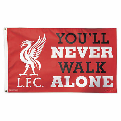 Liverpool FC You'll Never Walk Alone Flag 3x5ft Banner Soccer Football flags