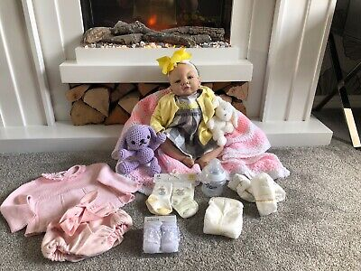 581debb6a3d Reborn Baby Girl Doll By Olivia Stone 2004 Weighs 1.6kilos ~ With Extras ❤️