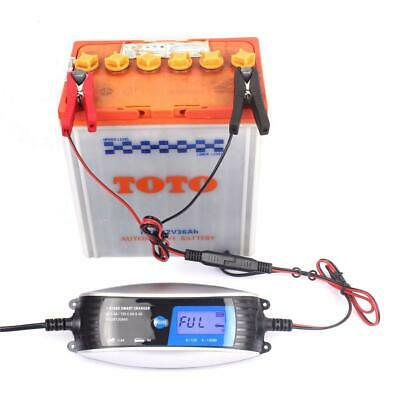 6V/0.8A 12V/4A Automatic Waterproof Motorcycle Car Battery Charger Plumbic Acid