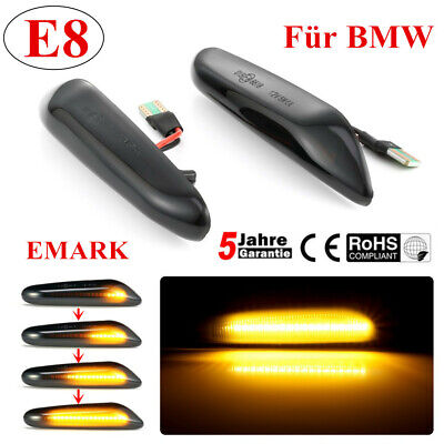 Dynamische LED Seitenblinker Blinker for BMW E90 E91 E92 93 E60 E87 E82 E46 SB24