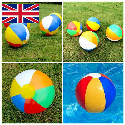 "20Pcs 8.5"" Panel Inflatable Sea Beach Ball Holiday Swimming Pool Party Balls  ^C"