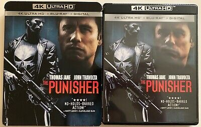 The Punisher 4K Ultra Hd Blu Ray 2 Disc Set + Rare Oop Slipcover Sleeve Buy It