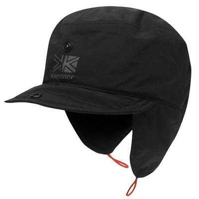 94e2b886 Mens Karrimor Black Mountain Walking Lightweight Waterproof Extreme Weather  Hat
