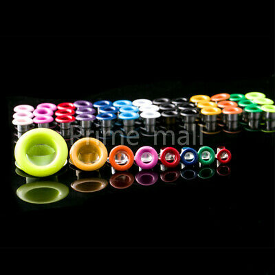200 pcs Colored Eyelets With Washer Grommet Scrapbooking Card Hole Leather Craft