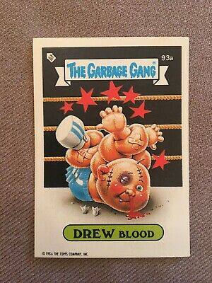 Topps - The Garbage Gang Series 3  #93a DREW BLOOD.