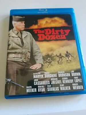 The Dirty Dozen Blu-Ray 1967 Lee Marvin Ernest Borgnine Charles Bronson WWII