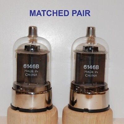 6146B Matched Pair   Tube Valve . Made In China