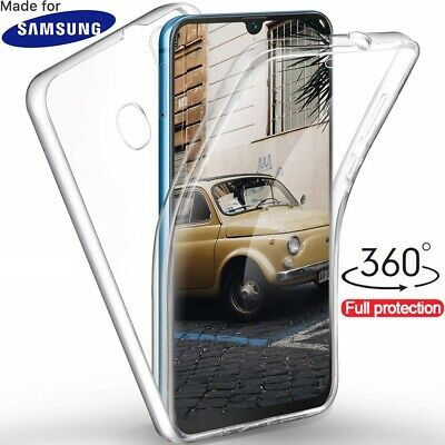 CUSTODIA COVER FULL 360° FRONTE RETRO per SAMSUNG GALAXY A10 A20 A30 A40 A50 A70