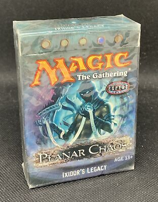 Magic The Gathering Planar Chaos Ixidor's Legacy Factory Sealed Theme Deck - QTY