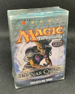 Magic The Gathering Planar Chaos Unraveling Ming Factory Sealed Theme Deck QTY