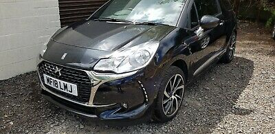 DS3 connect chic puretech 1.2 2018  damage repairable salvage spares or repairs