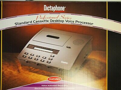 Dictaphone 2750 Standard cassette transcriber with foot pedal & Headset NEW