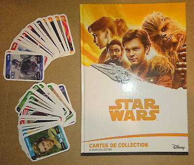 Leclerc 2018 - Han Solo A Star Wars Story - Album + Collection Complete
