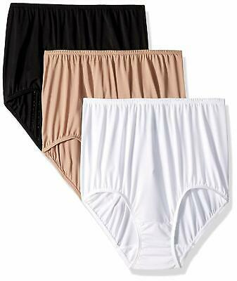 67f744d27847 OLGA WITHOUT A Stitch Brief 3 Pack Style 23173J Size Medium 6 NWT ...