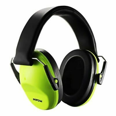 Kids Safety Ear Muffs NRR 25db Professional Noise Reduction Em5005 Green