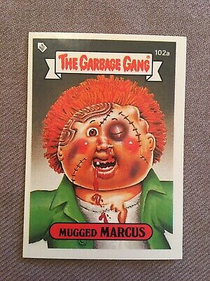 Topps - The Garbage Gang Series 3  #102a MUGGED MARCUS