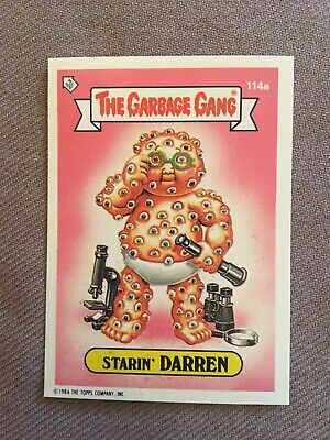 Topps - The Garbage Gang Series 3  #114a STARIN' DARREN .