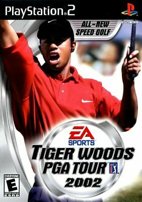 Tiger Woods PGA Tour 2002 - Sony PlayStation 2 PS2 Game