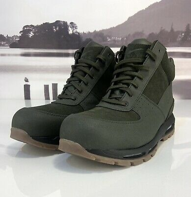 d0af7839b7f NIKE AIR MAX Goadome ACG Boots Olive Mens Size 6 865031-209 FREE ...