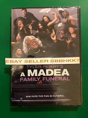 Tyler Perry's A Madea Family Funeral DVD *AUTHENTIC DVD READ LISTING* New Free S