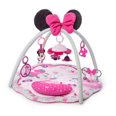 Bright Starts Disney  Minnie Mouse Garden Fun Activity Gym Toys Baby/Infant/0m+