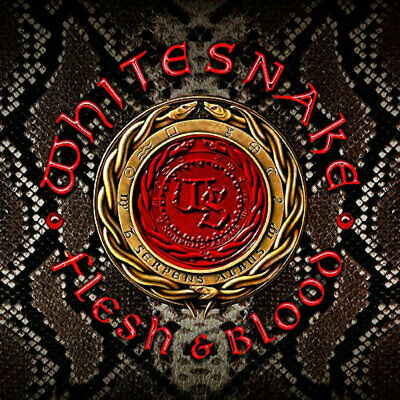 2019 WHITE SNAKE FLESH & BLOOD with BONUS TRACKS JAPAN CD + DVD EDITION new