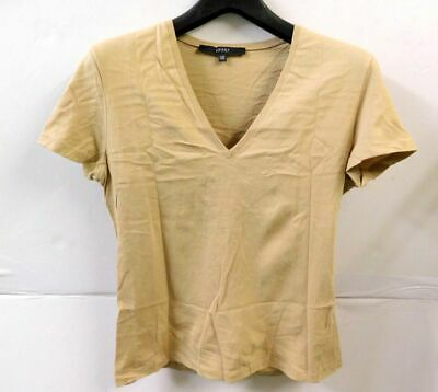 80de6aa6c GUCCI SIZE SMALL Brown Ribbed Slimming Capsule Long Sleeve Shirt Top ...