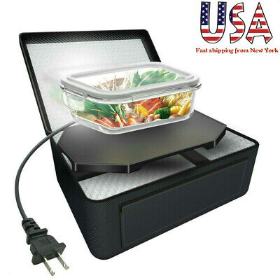 Mini Microwave Oven Portable Electric Food Warmer Heater Lunch Bag for Office