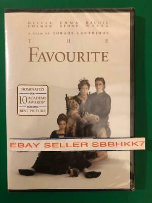 The Favourite (DVD 2018 2019) AUTHENTIC DVD READ DESCRIPTION New Free Shipping