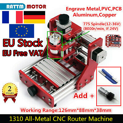 Fr 1310 Desktop 3 Axis Mini Diy Cnc Router Metal Engraving