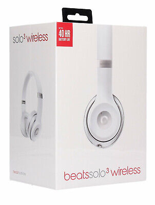 BEATS BY DR DRE SOLO HD 3.0 WIRELESS BLUETOOTH HEADPHONE SILVER, Seald Brand New