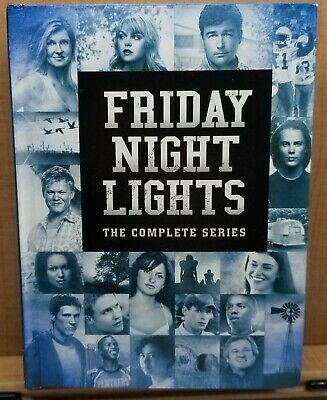FRIDAY NIGHT LIGHTS THE COMPLETE SERIES DVD, 2011 19-Disc Set NEW W/O SLEEVE