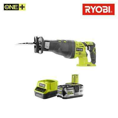 Pack RYOBI Scie sabre 18V OnePlus R18RS-0 - 1 batterie 5.0Ah - 1 chargeur rapid