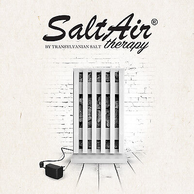 SaltAir Salt Therapy for Asthma COPD Bronchitis Hayfever Allergy Cough Cold Flu