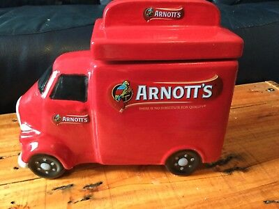 Collectable Ceramic Arnotts Biscuit Jar