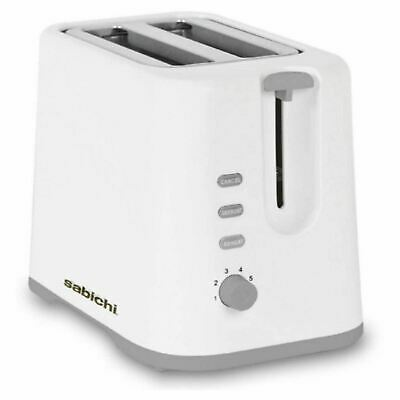 2 Slice Electric Bread Toaster Kitchen Crumb Tray Breakfast Browning Control