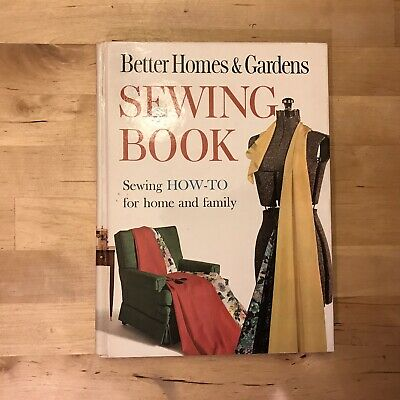Better Homes & Gardens Sewing Book How -To For Home & Family Sewing 1961 Vintage